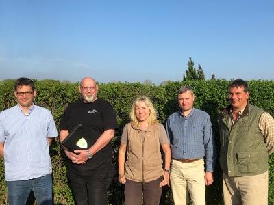 Neuer Vorstand Jagdverband Oberhavel 2019
